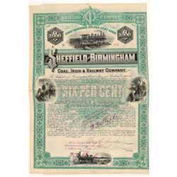 Sheffield and Birmingham Coal, Iron & Railway Co   (106073)