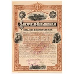 Sheffield and Birmingham Coal, Iron & Railway Co   (106072)