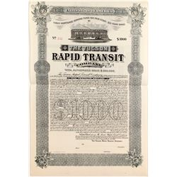 Tucson Rapid Transit Bond   (84129)