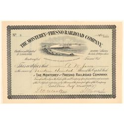 The Monterey and Fresno Railroad Co.   (104643)
