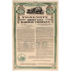 Yosemite Short Line Railway Company (Bond)   (106653)
