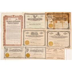 California Railroads ephemera   (103230)