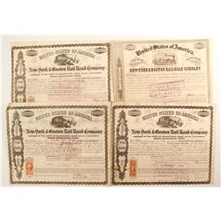 New York & Boston  Rail Road Co bonds   (87075)