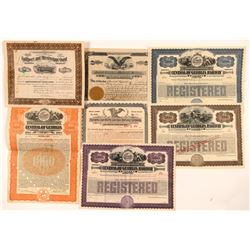 Georgia Railroad Stock Certificates & Bonds   (107375)