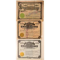Idaho Railroad ephemera   (104632)