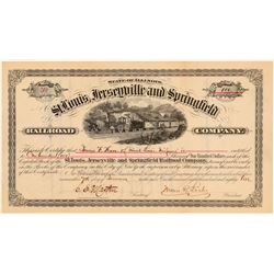 St. Louis, Jerseyville and Springfield Railroad Co.   (105535)