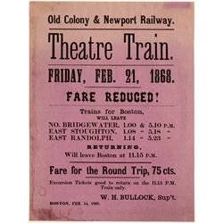 Railroad Broadside   (108053)