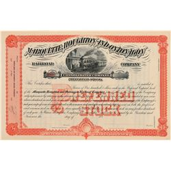 Railroad Stock / Michigan.   (105017)