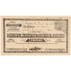 Oregon & Washington Territory Railroad Co   (103234)