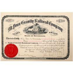 Mt Penn Gravity Railroad Co   (101256)