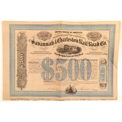 The Savannah and Charleston Railroad Co   (105515)