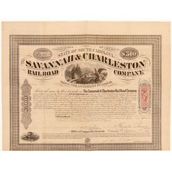 The Savannah and Charleston Railroad Co   (105514)