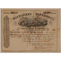 Milwaukee and Minnesota Railroad Co.   (101334)