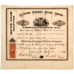 Allentown Passenger Railway Company   (75866)