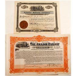 Amador Railway Co.   (82210)