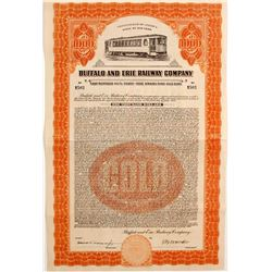 Buffalo and Erie Railway Company Gold Bonds   (83151)