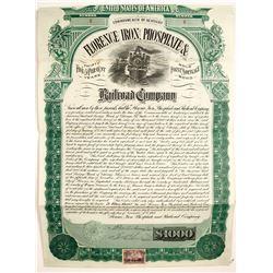 Florence Iron, Phosphate & Railroad Company   (75838)