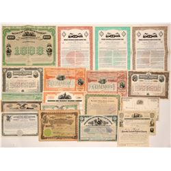 Kentucky Railroad Stocks (14) and Bonds (5)   (105693)