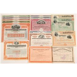 Lehigh  Valley RR Co stocks & bonds   (105191)
