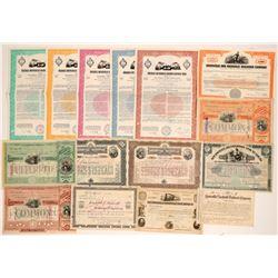 Louisville & Nashville Railroad Stocks & Bonds   (105694)