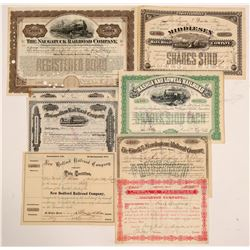 MA Railroad Bond (1) 7 Stocks   (105696)