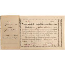 Negaunee & Palmer Railroad Company   (105159)