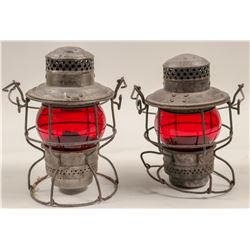 Railroad Lamps (Set of 2)   (106000)