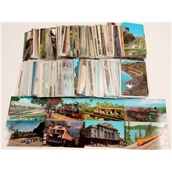 Railroad Postcard Collection   (105273)