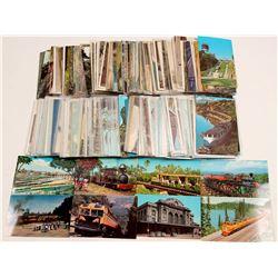 Railroad Postcard Collection   (105273)