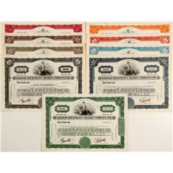 Railway Equipment & Realty Co, 7 Different Specimens   (84209)