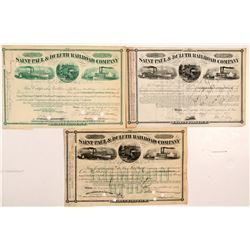 St. Paul & Duluth Railroad Co. stock   (106303)