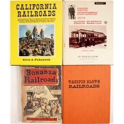 Western Railroad Books (4)   (63361)