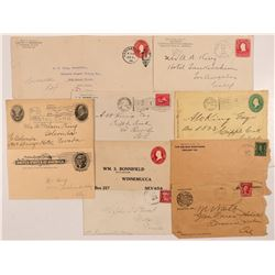Miscellaneous Western Postal History   (107346)