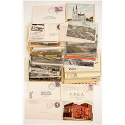 Western Postcard and Cover Collection   (89811)