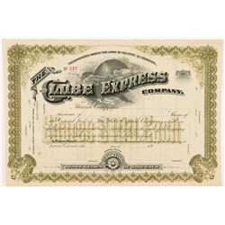 Globe Express Company Stock Certificate   (104358)