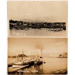 Petersburg, Alaska RPC's (2)   (105294)