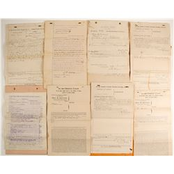 Arizona Ephemera including Legal Docs   (89810)