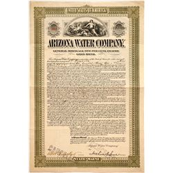 Arizona Water Company Bond   (86026)