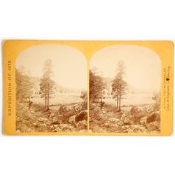 Lt. Wheeler, Camp Apache, AZ Stereoview   (89365)