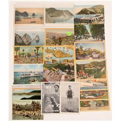 Catalina Island, CA Postcards   (105336)