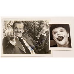 "Photos / Jack Nicholson  &  As "" The Joker""/ 2 Items.   (105402)"
