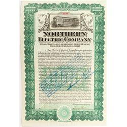 Northern Electric Company Bond   (52343)