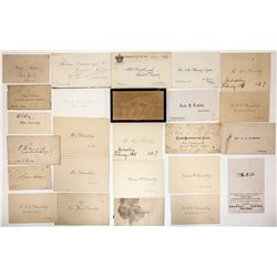 Duisenberg Estate Calling Cards   (23961)