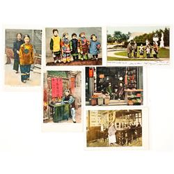 "Six Older SF Postcards - ""Address Only"" on Reverse   (53934)"