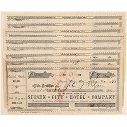 Suisun City Hotel Stocks   (105490)