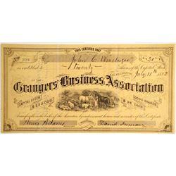 Grangers Business Association Stock   (79207)