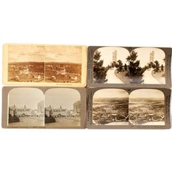 Colorado Springs Stereoviews (4 count)   (53241)