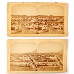 Early Colorado Springs Stereoview (2 count)   (53240)