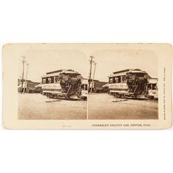 Denver Streetcar Stereoview   (53253)