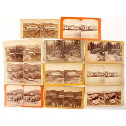 Manitou Springs Stereoviews (11 count)   (53232)